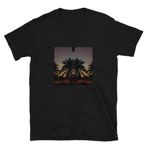 Palm Sunrise - Short-Sleeve Unisex T-Shirt