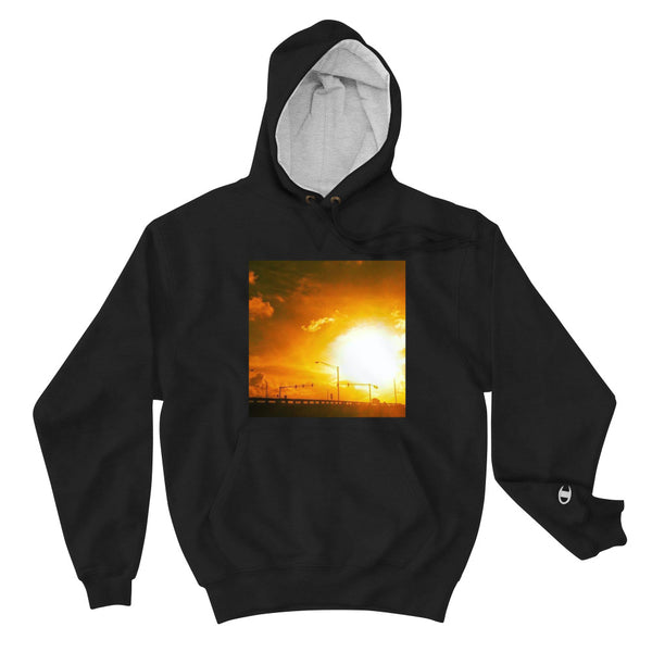 HERE COMES THE SUN Champion Hoodie