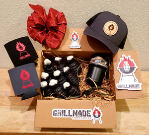 Grillnade Gift Box - Charcoal Hat