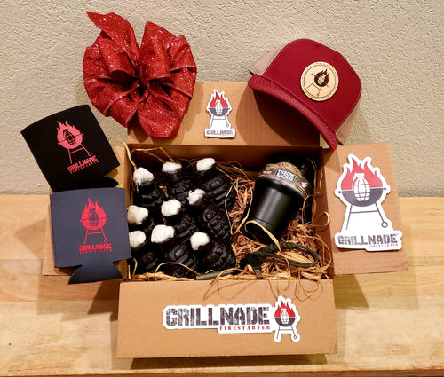 Grillnade Gift Box - Red Hat