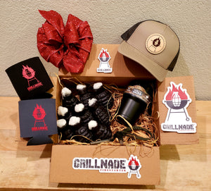 Grillnade Gift Box - Khk/Loden Hat