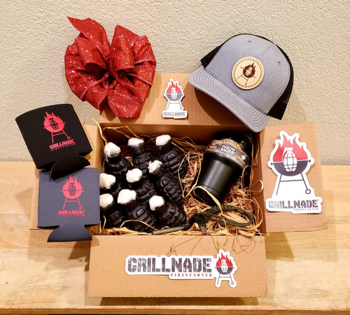 Grillnade Gift Box - Heather Hat