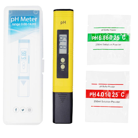 Portable Digital PH Meter Pen with LCD