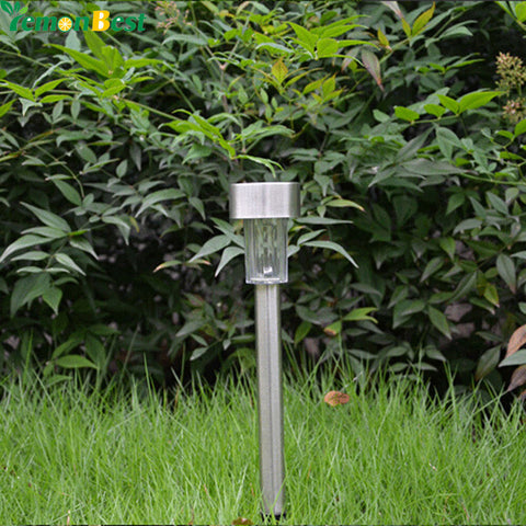 Stainless Steel Solar LED Light Lawn Lamp