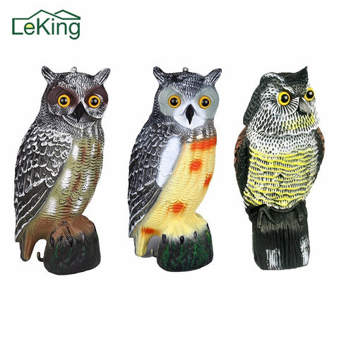 Lifelike Owl Decoy For Bird Control