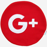 Google Plus Pillow