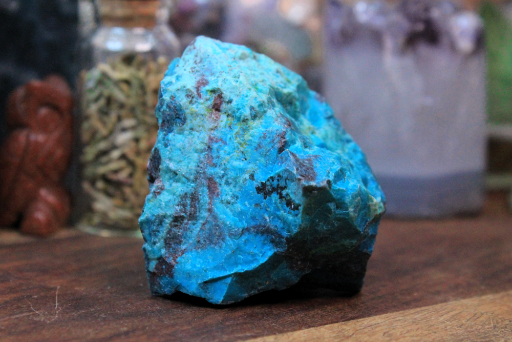 Chrysocolla Rough Pieces - Set of 6