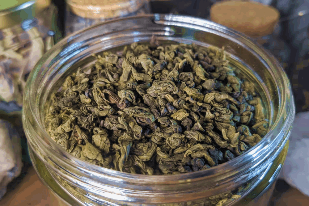 Green Tea - Gunpowder - 1 oz Bag