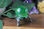 Green Aura Quartz Sphere 1""