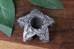 Pewter Star Chime Candle Holder