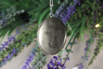 Pyrite Oval Cabochon Necklace