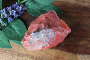 Red Jasper Rough Chunk 3""