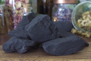 Shungite Rough Pieces - Set of 2