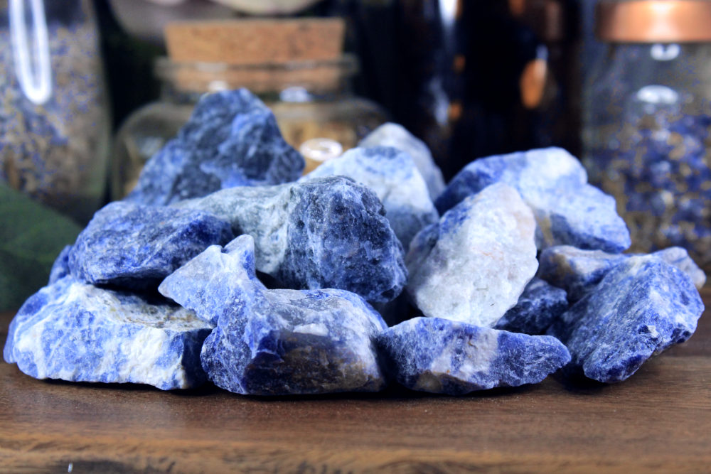 Tumbled Sodalite - Set of 6