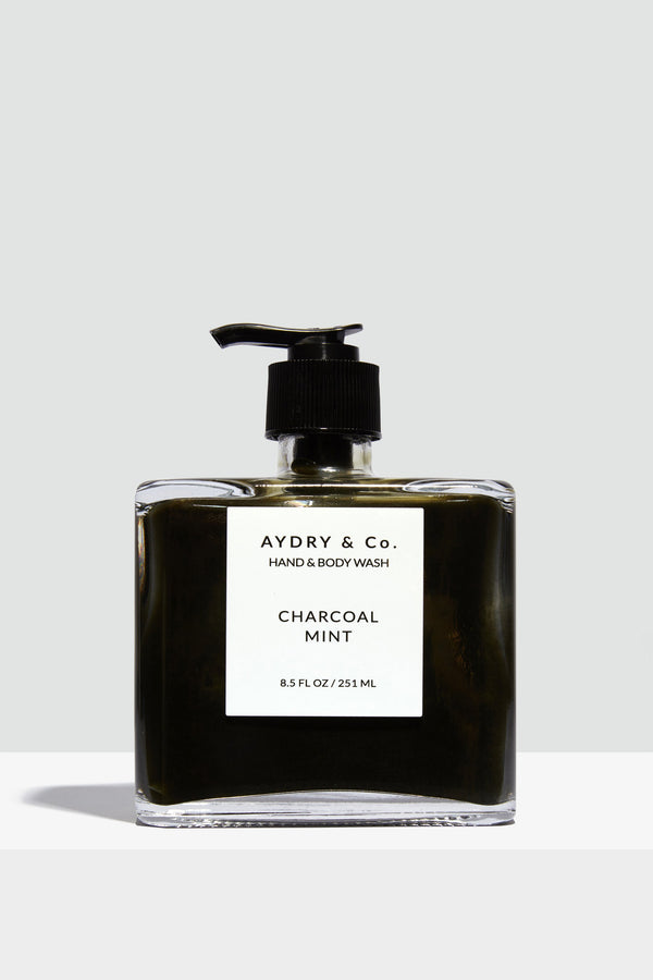 Charcoal Mint Hand + Body Wash