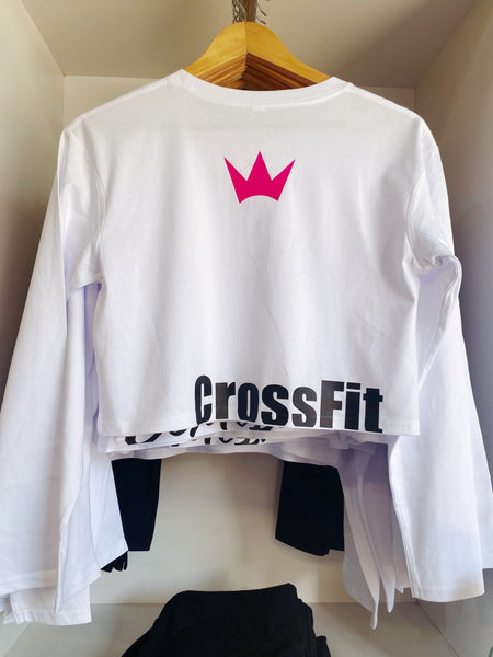Contessa Cropped Tee L/S