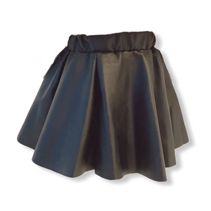 ARIANA FAUX LEATHER SKIRT