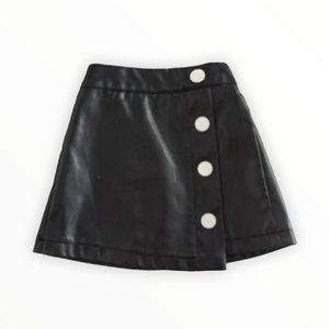 NORA FAUX LEATHER SKIRT
