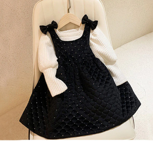 SHONI QUILTED DRESS SET