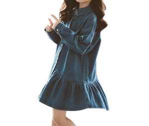 ABIGAIL DENIM DRESS