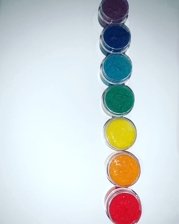 Chakra Lip Scrubs Collection
