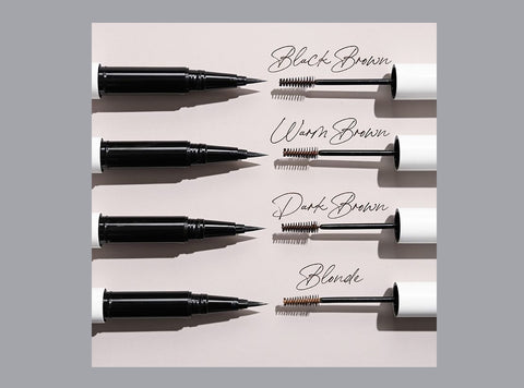Undone Beauty Flawlush Brow and multipurpose fill and fluff brow applicators.