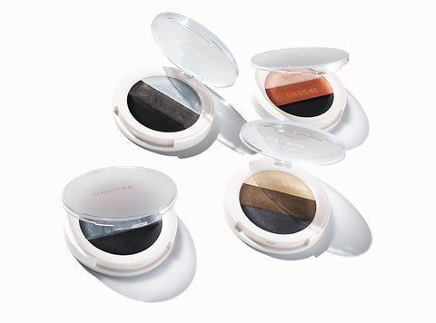 Undone Beauty 3-in-1 Eye Palette in four different shade collections