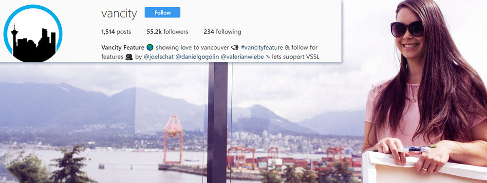 Vancity Feature Instagram Takeover | Announcement | Karlie Rosin takes over Vancity