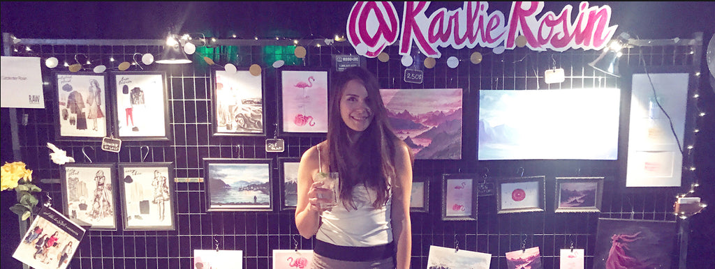 Art Show in Vancouver | RAW Artists Presents Karlie Rosin at Fixate | Fall 2017