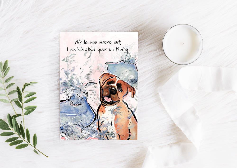 Karlie Rosin Art Licensing Pawsitive wishes Greeting Card Line