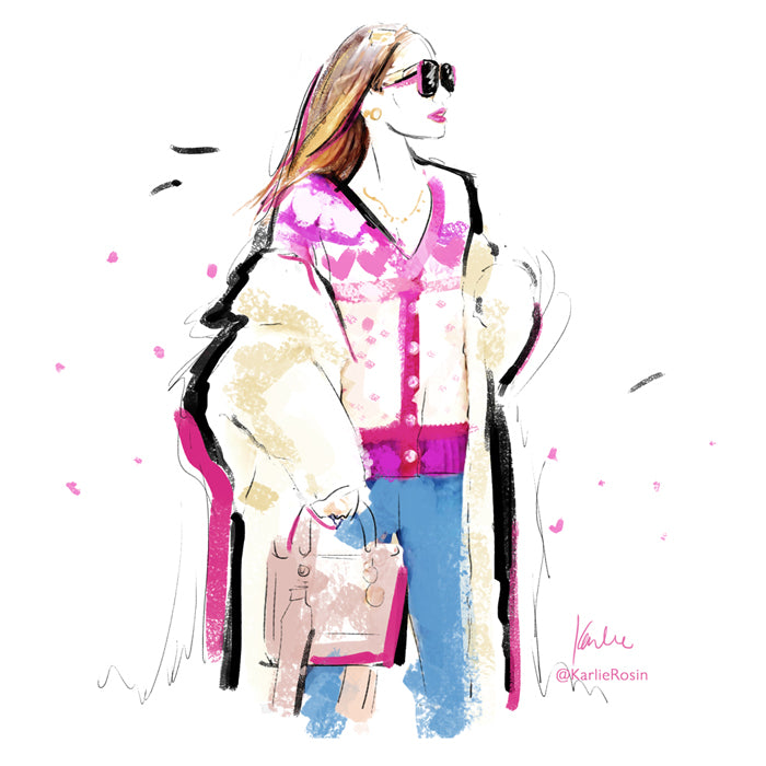 custom fashion illustrations by karlie rosin click here