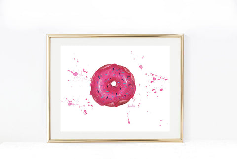 Vancouver Cherry Blossom Art Print | as seen on Tourism Vancouver | 11x14, 8x10