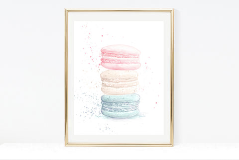 Lilac Doughut Art Print | Donut Illustration | 4.5x6