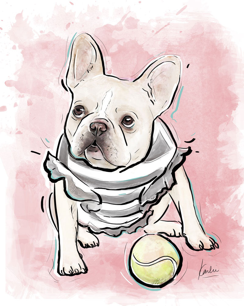 Custom Pet Illustration | Physical Art Shipped To Your Door