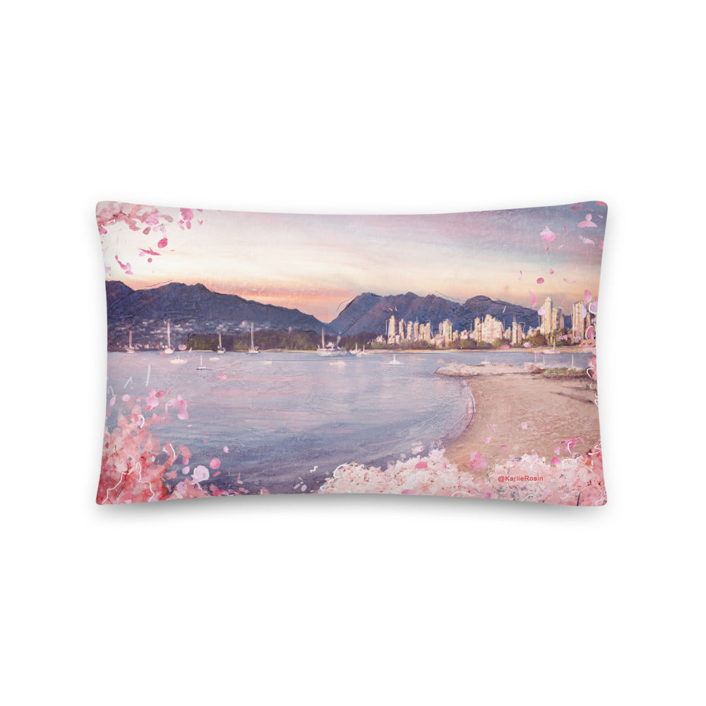 Vancity Bloomies Throw Pillow | Isolation Edition 2020
