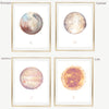 Aries Zodiac Sign | Zodiac Art Print Collection | Astrology Aries Art Wall Decor | 8x10, 11x14