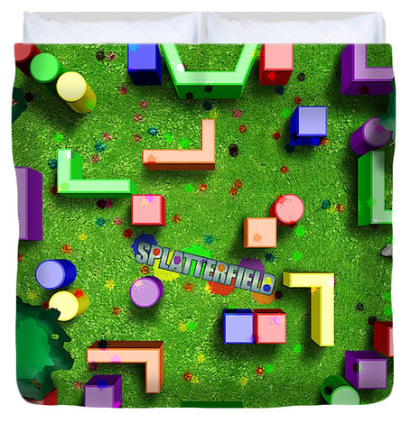 Splatterfield Paintball Arena - Duvet Cover