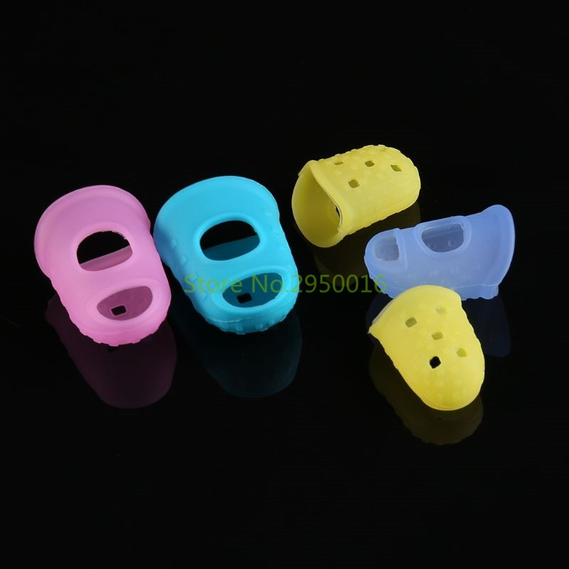 1Pc Finger Insulation Silicone Sleeve Case Cover Anti-Slip Fingertip Thermal Protection for 3D Printing Pen 5 Size C26 - Mon Espace Créa