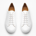 Bespoke Leather Sneakers White