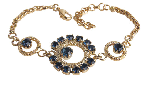 Circle Delight Bracelet Dark Sea