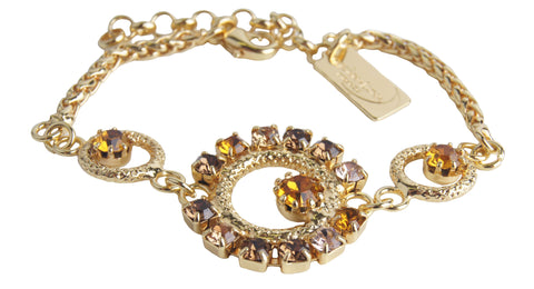 Circle Delight Bracelet Honey