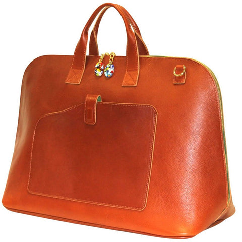 Woman Duffle Bag Leather