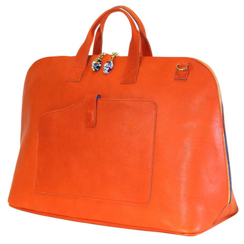 Woman Duffle Bag Orange