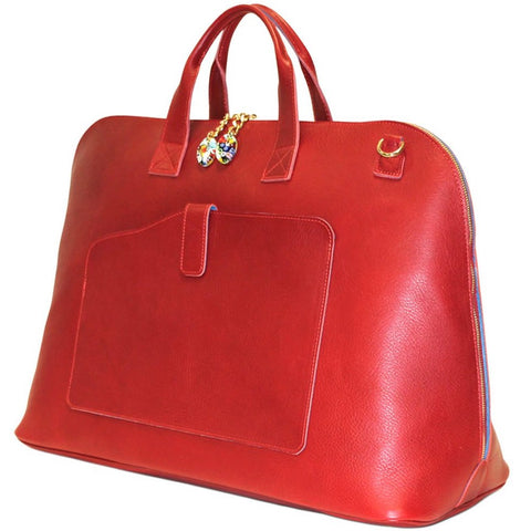 Woman Duffle Bag Red