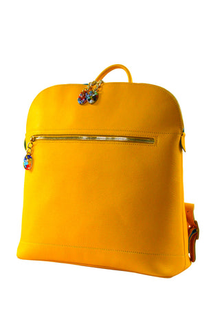 Woman Backpack Yellow