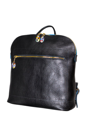 Woman Back Pack Black