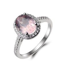 Load image into Gallery viewer, Pink Gemstone Ring