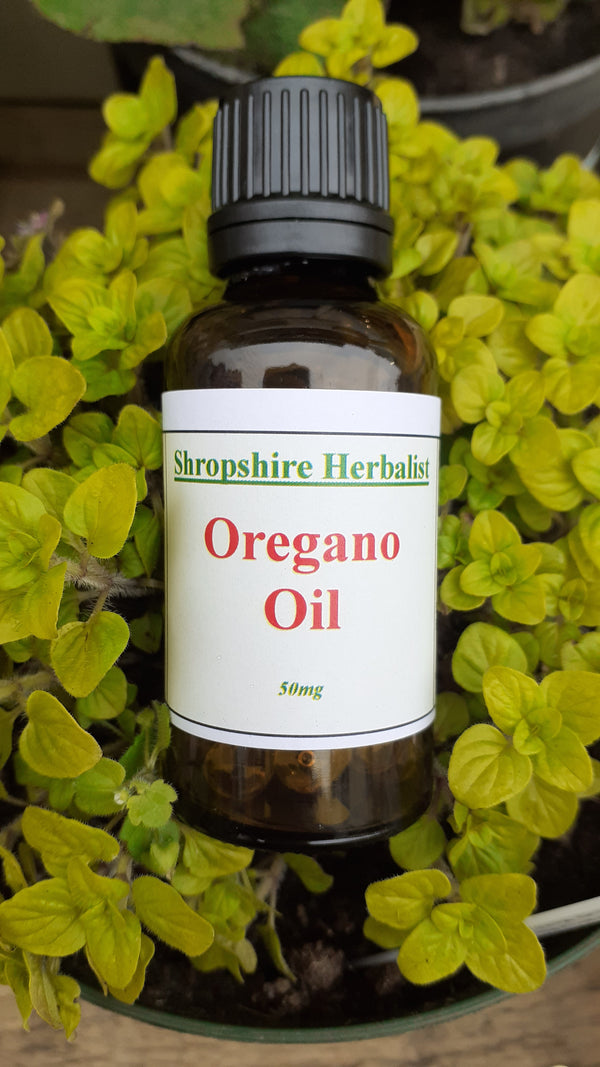 Oregano oil capsules 50mg 60s