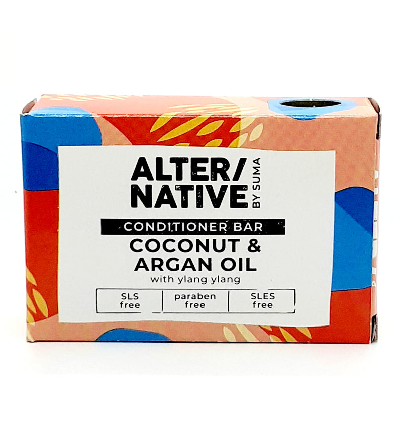 Alter/native conditioner bar coconut and argan oil with ylang ylang