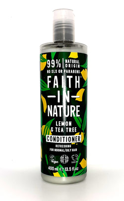 Faith in nature lemon and tea tree conditioner 400ml